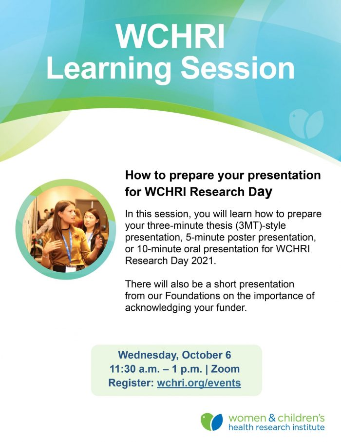 Learning session poster
