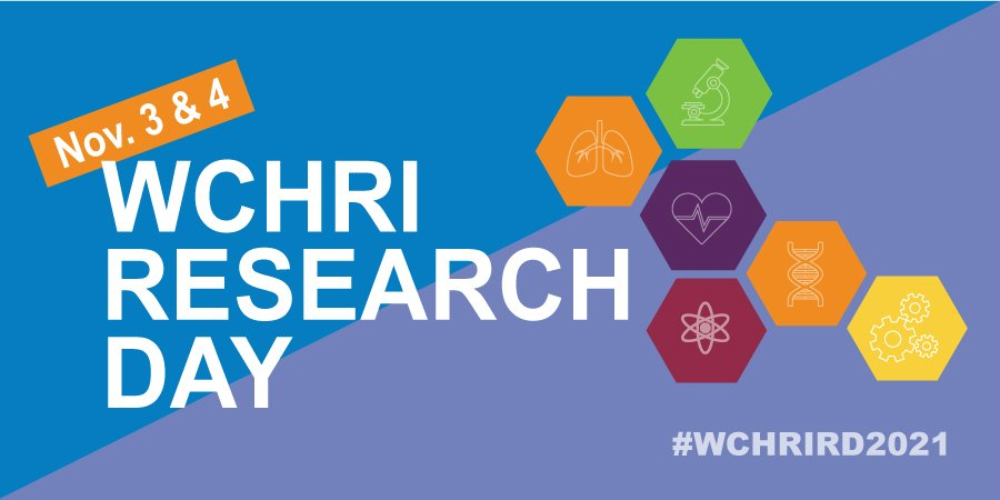 WCHRI Research Day graphic